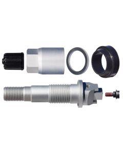 Box of 10 TPMS Service Kit - Aluminum valve stem for Toyota (2020 Corolla w/steel wheels), Lexus (2020 Lexus ES/RX)